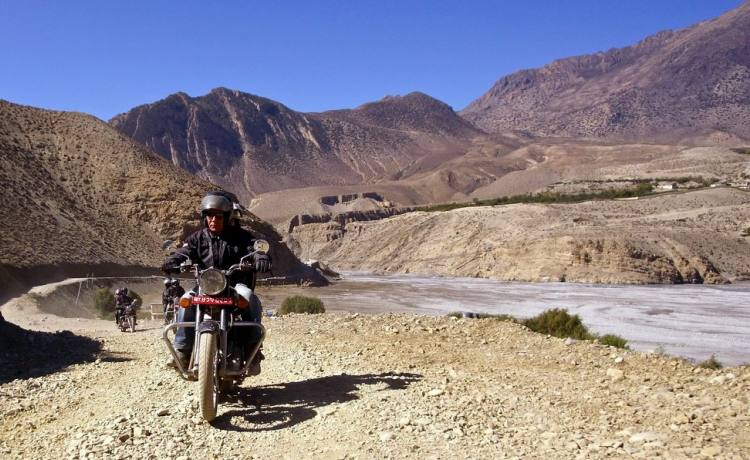 Motorbike Tour of the Annapurna Circuit to Manang