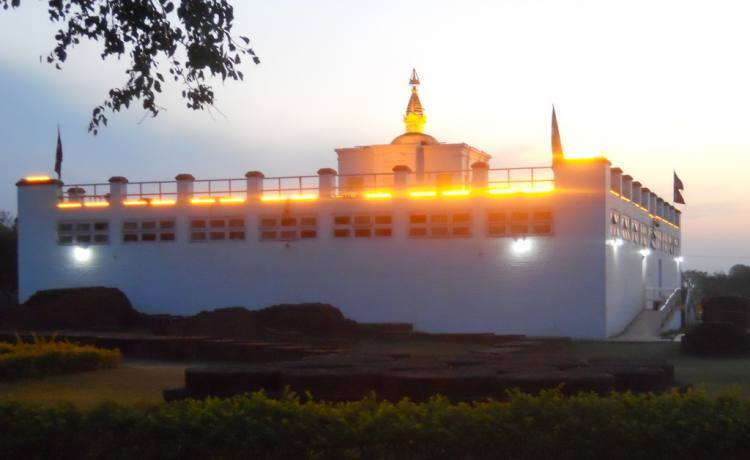 Buddha was Born in Lumbini, Nepal